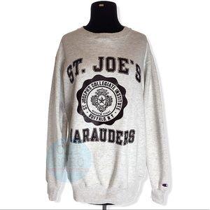80s Champion Sweatshirt ST. JOE'S Buffalo